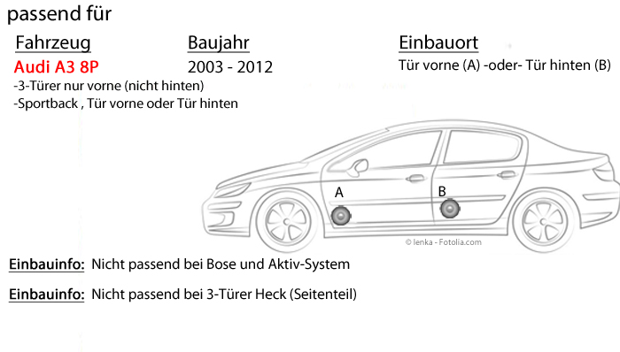 Einbauset f/ür Opel Corsa B//C//D 16cm 3-Wege Koax Paar PKW 300WATT Koaxiallautsprecher Auto Einbausatz JUST SOUND best choice for caraudio Lautsprecher Boxen Pioneer TS-G1730F