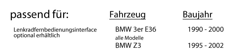 Einbauset f/ür BMW 3er E36 Autoradio Radio Blaupunkt Alicante 170 CD//MP3//USB Einbauzubeh/ör JUST SOUND best choice for caraudio